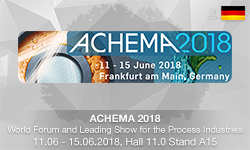 ENOTEC AT ACHEMA 2018