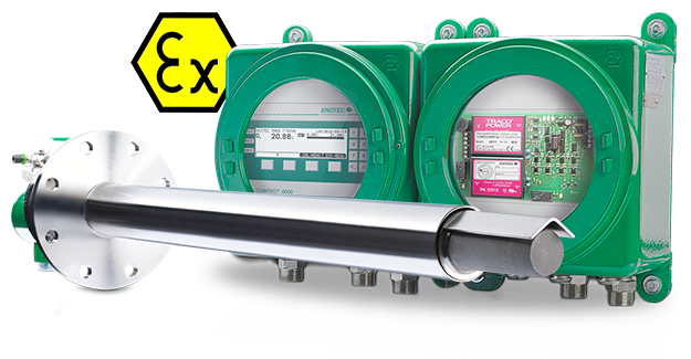 OXITEC GasEx - oxygen analyzer for InSitu in gas explosion zones 1/2
